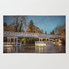 The Toll Bridge At Whitchurch-on-Thames Rug
