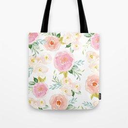Floral 02 - Medium Flowers Tote Bag