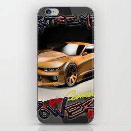 Sport Car - The Extreme Camaro iPhone Skin