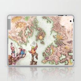 Map of Mutha Oith Laptop & iPad Skin