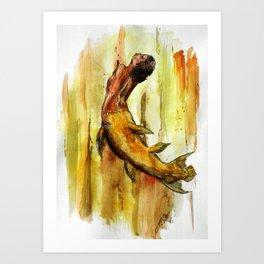 Mer-acanth Art Print