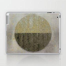 Glamorous Golden Circle Sparkling Elegance Laptop & iPad Skin
