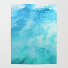 Water Fantasia #decor #buyart #society6 Poster