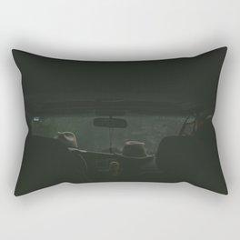 Misty Evening Rectangular Pillow