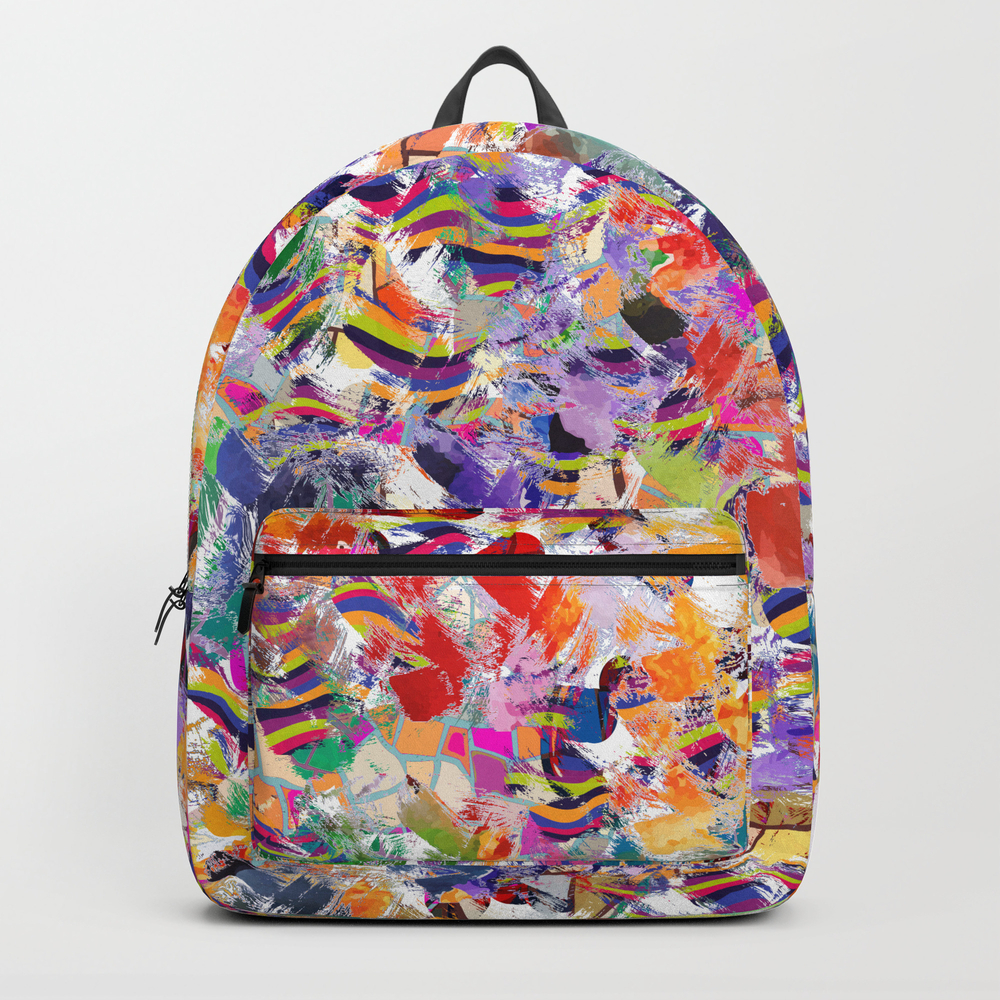 Broken Cups Backpack by Lalachandra BKP8601741