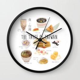 The Taste of Taiwan Wall Clock
