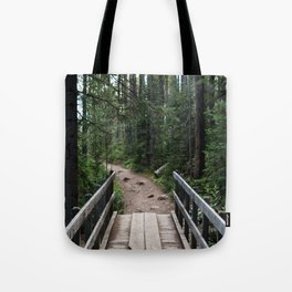 Colorado Woods Bridge Tote Bag