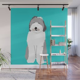 Lucy The Sheepadoodle Wall Mural
