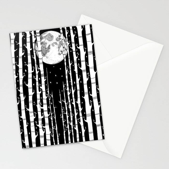 MoonLight Dream Stationery Cards