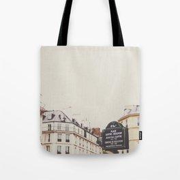 Place Sartre Beauvoir Tote Bag