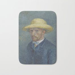 Portrait of Theo van Gogh Bath Mat