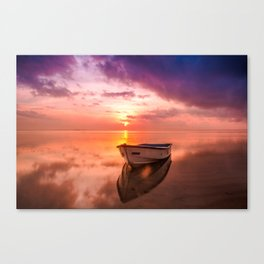 The Best Sunset Canvas Print