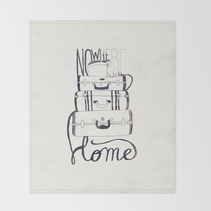 Nowhere Home Throw Blanket
