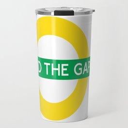 NCFC - Mind The Gap Design Travel Mug