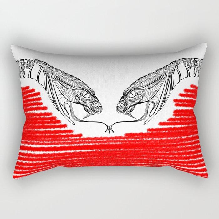 Duality - Love Rectangular Pillow