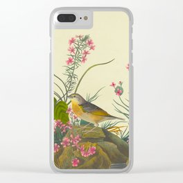 Robert Havell after John James Audubon - Yellow-winged Sparrow - 1832 Clear iPhone Case