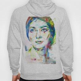 MARIA CALLAS - watercolor portrait.10 Hoody