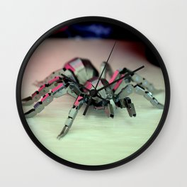 That's A Nice Reflection On Hue Wall Clock