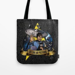 Live Long and Prospurrr... Tote Bag