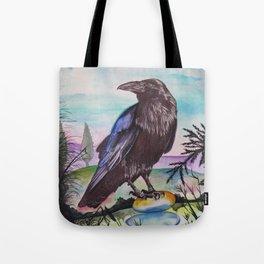 Crow Cairn Tote Bag