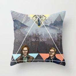 carry on my wayward son Throw Pillow