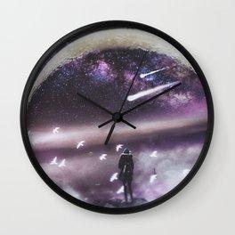 INFINITE WORLD #1 Wall Clock