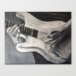 road warrior, stratocaster guitar Canvas Print
