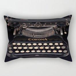 Corona Typewriter Rectangular Pillow