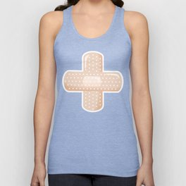 First Aid Plaster Unisex Tank Top