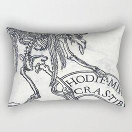 cras tibi Rectangular Pillow