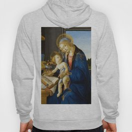 The Virgin and Child by Sandro Botticelli Hoody