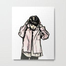 RUN BTS JUNGKOOK Metal Print