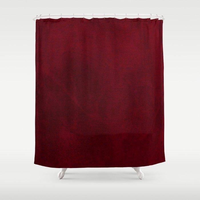 VELVET DESIGN - red, dark, burgundy Shower Curtain by pavlova   Society6