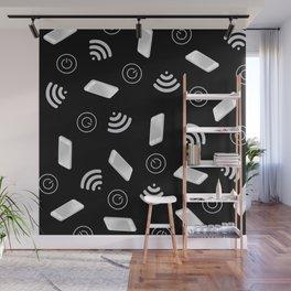 Techy Wi-Fi Wall Mural