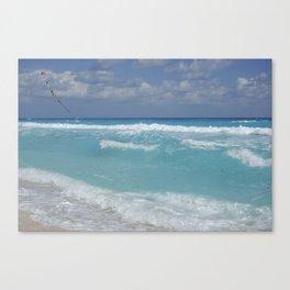 Carribean sea 3 Canvas Print