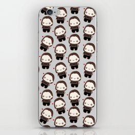 Bucky (heart) iPhone Skin