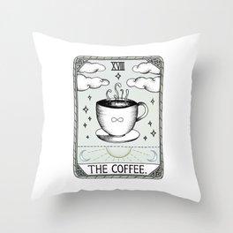 The Coffee Throw Pillow