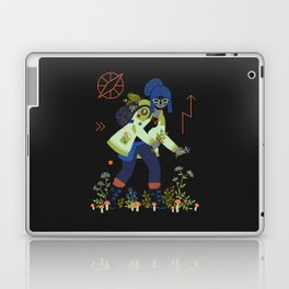 Witch Series: Plants and Herbs Laptop & iPad Skin