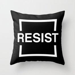 Resist 2 Throw Pillow