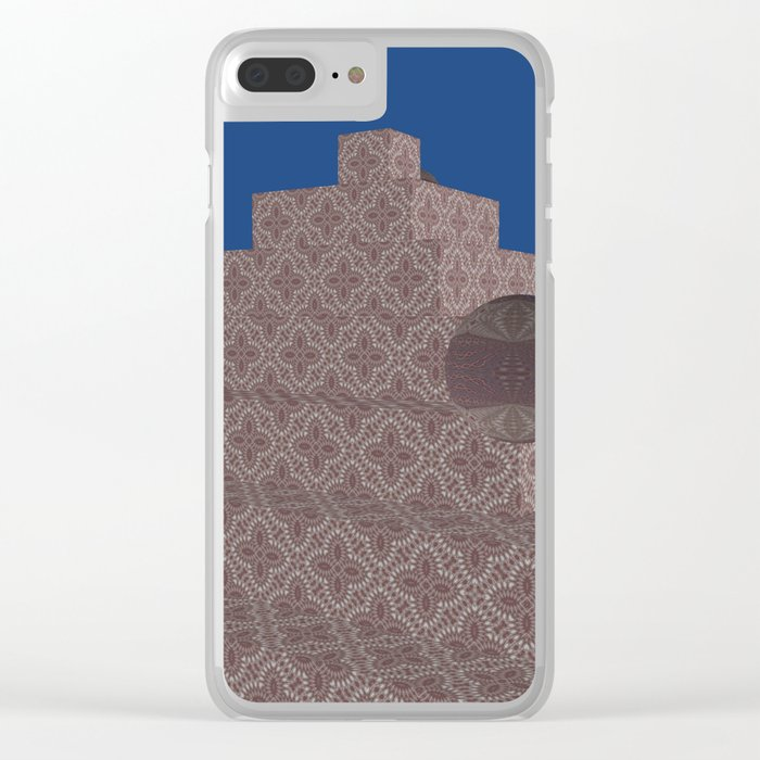 New-Nice Pyramide 6 Clear iPhone Case