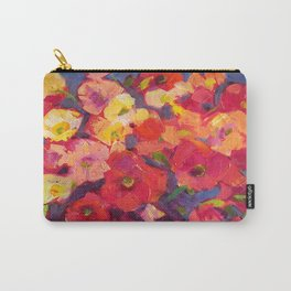 Poppy Party Carry-All Pouch