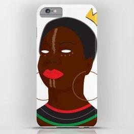 Queen Simone iPhone Case