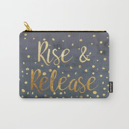 Rise and Release Yoga Meditation Carry-All Pouch
