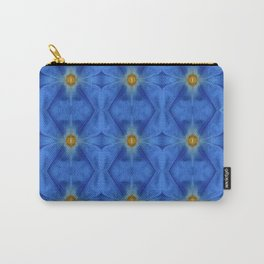 Divine Diamond Morning Glory Blues Carry-All Pouch