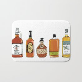 5 Whiskeys Bath Mat