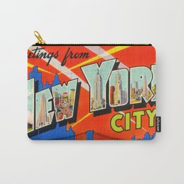 Greetings From New York City Carry-All Pouch