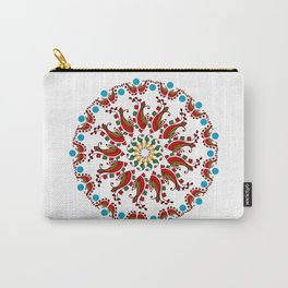 Hand drawn Mandala design Carry-All Pouch