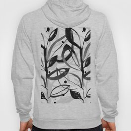 Botanical Joy No.7A by Kathy Morton Stanion Hoody
