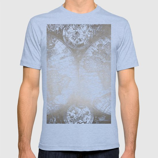 Antique white gold world map t shirt by naturemagick society6 gumiabroncs Image collections
