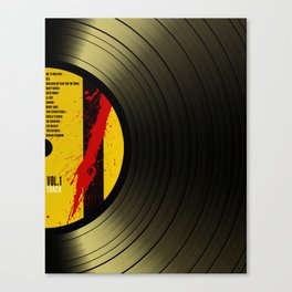 Vinil Movies 1 Canvas Print